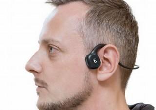 cheero、耳をふさがず骨を通じて聴覚神経に音を届ける「骨伝導ワイヤレスイヤホン」発売