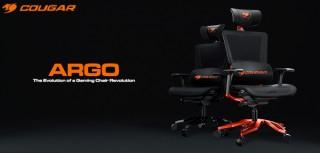 COUGAR、メッシュ素材を採用したゲーミングチェア「ARGO」を発売