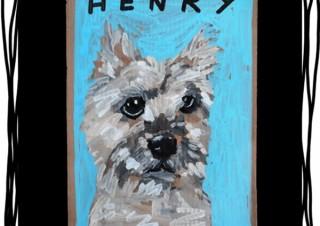 猫や犬などの動物をモチーフにした作品で知られるBen Lenovitz氏のアートワーク展が開催