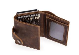 財布、キーケース、カードケースをまとめて持ち歩く「ミニマリスタUNO」