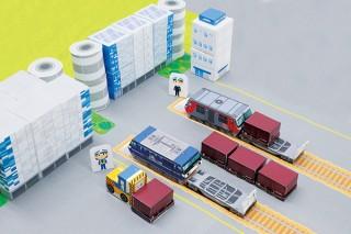 ブラザー工業、貨物輸送がまるごと学べる「JR貨物まるごとペーパークラフト ―ターミナル編―」を無料公開