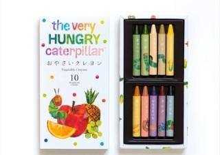 ヴィレヴァン、廃棄野菜や米で作った「おやさいクレヨン」と絵本のコラボセットを発売