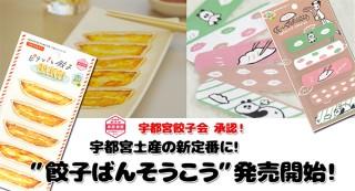 宇都宮発! 手土産にしたい「餃子絆創膏」発売