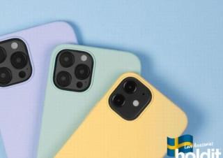 iPhone12を大人可愛い装いにする、北欧ブランド「Holdit」のシリコンケース