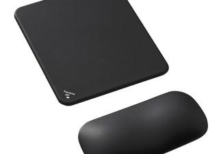 サンワサプライ、分離式リストレスト付きのマウスパッドを発売