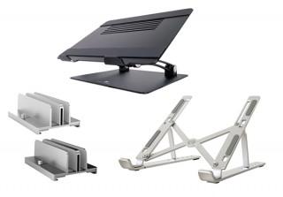 あなたはどれを選ぶ? MOTTERUがノートPCスタンド3シリーズを同時発売