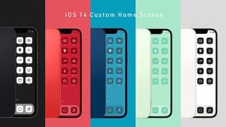 iPhone(iOS14)のホーム画面を自分色にカスタマイズする「Nomad iCon」