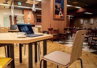 カフェ・ド・クリエ、ワーク/ラウンジ/カフェの3エリアが揃う次世代店舗を発表