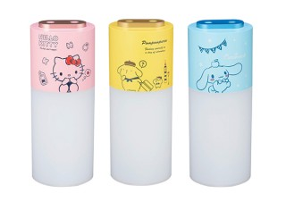 グリーンハウス、サンリオキャラクターとコラボした充電式のポータブル加湿器を発売