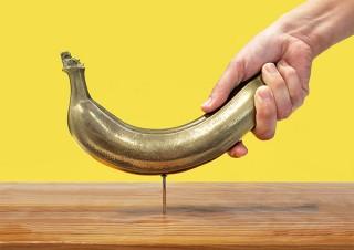 キャステム、バナナを金属で完全再現した「バナナハンマーDX」を発売