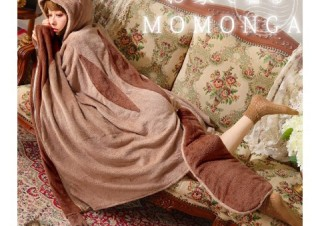 ヴィレヴァン、モモンガの姿で休める「着る毛布」の取扱開始
