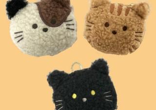 ヴィレヴァン、もふもふ猫のキーホルダー型エコバッグを発売