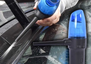 サンコー、ペットボトルサイズの電動エアダスター掃除機を発売