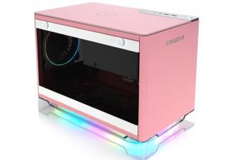 IN WIN、Mini-ITXケース「A1 PLUS」のピンクモデルを発売