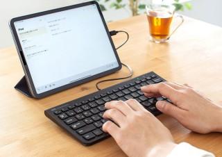 サンワサプライ、USB Type-C接続式のスリムな有線キーボードを2種発売