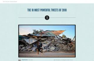 Twitter、2010年で最も影響力のあったつぶやきトップ10を公開