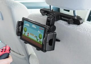 サンワサプライ、Nintendo Switchやスマホを設置できるヘッドレスホルダーを発売