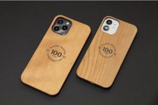 MZRacing、天然チェリーウッドを使用したマツダ100周年記念のiPhone12用ケースを発売