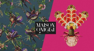 アマナの女性クリエイティブユニットMAISON ONIGIRIの展覧会「FOOD COUTURE」