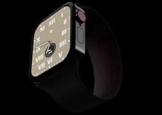 iPhone12のフラットデザインを模した「Apple Watch Series 7」のコンセプト画像公開