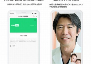 オンライン診療サービス「LINEドクター」、首都圏の一部医療機関で先行提供を開始