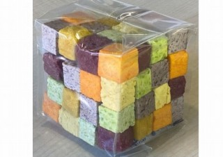 カルビー、野菜キューブを積み上げた「コロコロベジタブル」を数量限定発売