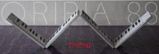 ファインアシスト、折りたたみ式電子ピアノ兼MIDIキーボード「ORIPIA88」を発売