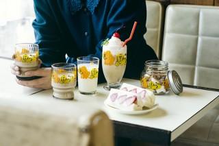 ヴィレヴァン、昭和レトロなグラスシリーズ復刻版からヒョウとトラの「ズーメイト柄」を発売