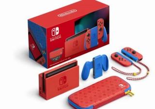 マリオの服と同じ配色の「Nintendo Switch マリオレッド×ブルー セット」発売