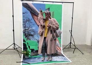 モンブラン銀座本店で作品が展示販売される沼田侑香氏の個展「Sampling Theorem」