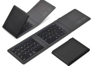 JTT、タッチパッドも搭載した折りたたみキーボード「Bookey Pocket+」を発売