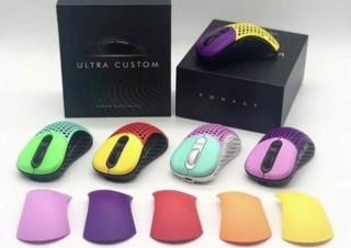 マウスの色を11色から選べて、クリック感やDPIボタンの調節もできる「Ergoシリーズ」