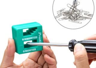 サンワサプライ、手持ちの工具を簡単に磁石のようにできるマグネタイザー「TK-MAG2N」