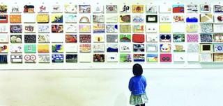 約200名の作品を匿名で展示販売する「匿名希望展」の第2回が開催