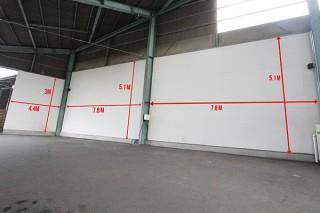 100平方メートル近くの巨大な壁面を自由に彩る「北九州ウォールアートコンテスト」