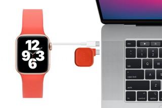 エリーゼジャパン、Apple Watch用小型磁気充電ドック「Maco Go」の新色レッドを発売