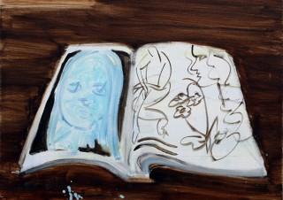 今春に多摩美術大学絵画学科を卒業する南谷理加氏の個展「WONDERLAND II」