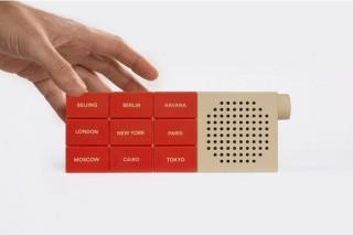 銀座 蔦屋書店、世界18都市のラジオを聴けるスピーカー「THE CITY RADIO」を発売