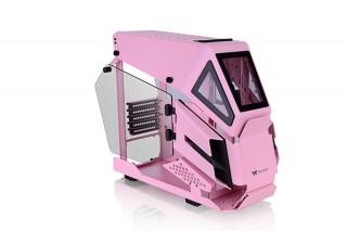 アスク、ヘリコプターをイメージしたPCケースのピンク色モデル「AH T200 Pink」を発売