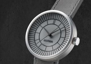 第一次世界大戦の懐中時計をコンクリート素材で復刻させた「Sector Dial腕時計」発売