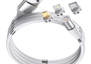 Gloture、コンパクトに収納できるマグネット式充電ケーブルを発売