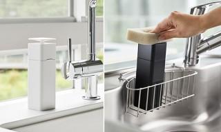 山崎実業、食器洗いに便利な「片手で出せるディスペンサー タワー」などを発売