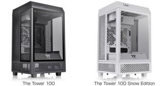 Thermaltake、ショーケースのようなデザインのミニタワー型PCケースを発売