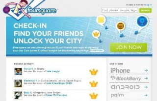 KDDI、位置情報の「foursquare」と協力関係を構築
