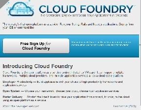 VMware、クラウド向けPaaS「Cloud Foundry」のベータ版を提供開始