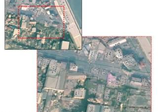 ゼンリン、被災地の住宅地図データと航空写真を重ねた画像を無償提供