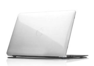フォーカル、MacBook Airの質感を生かすクリアシェルケース「eggshell for MacBook Air」