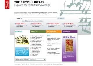 大英図書館、グーグルと協力し蔵書25万冊を電子化