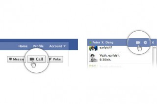 FacebookがSkypeとの提携によりビデオチャット機能を提供開始