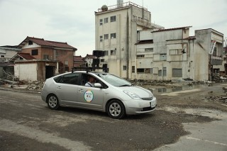 グーグル、東日本大震災の被災地でGoogleストリートビューの撮影を開始